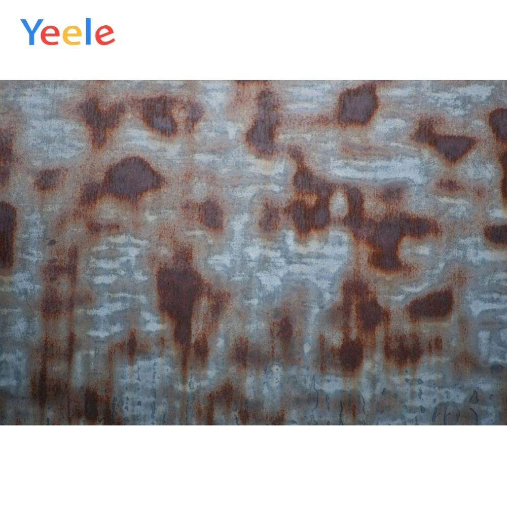 Yeele Wooden Rusty Iron Old Retro Rust Wallpaper Photography Backdrops Personalized Photographic Backgrounds For Photo Studio in Background from Consumer Electronics
