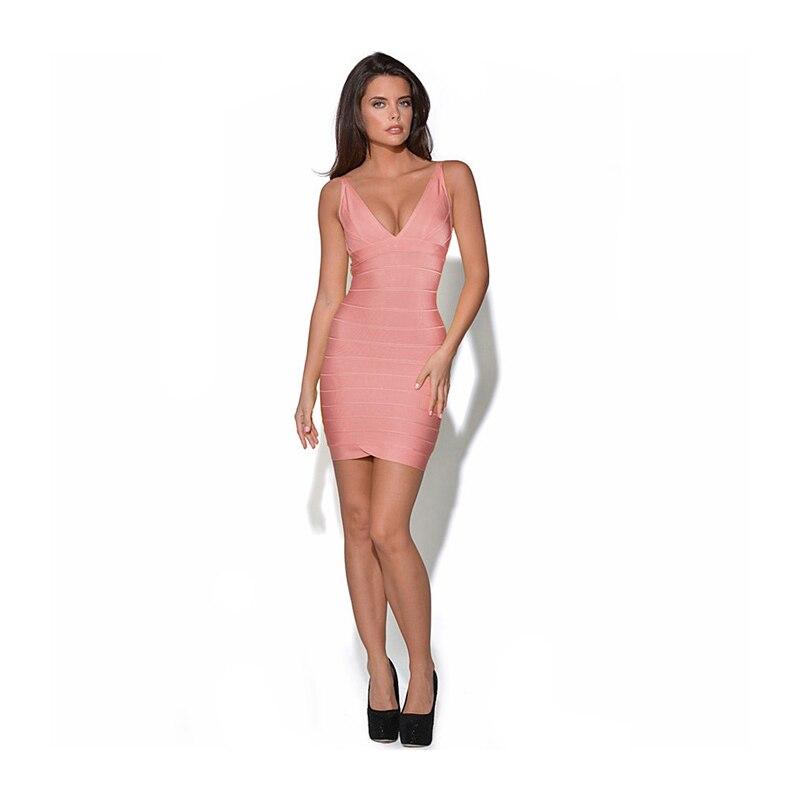 Aliexpress Buy Summer Sexy Bandage Spaghetti Strap Club Dress