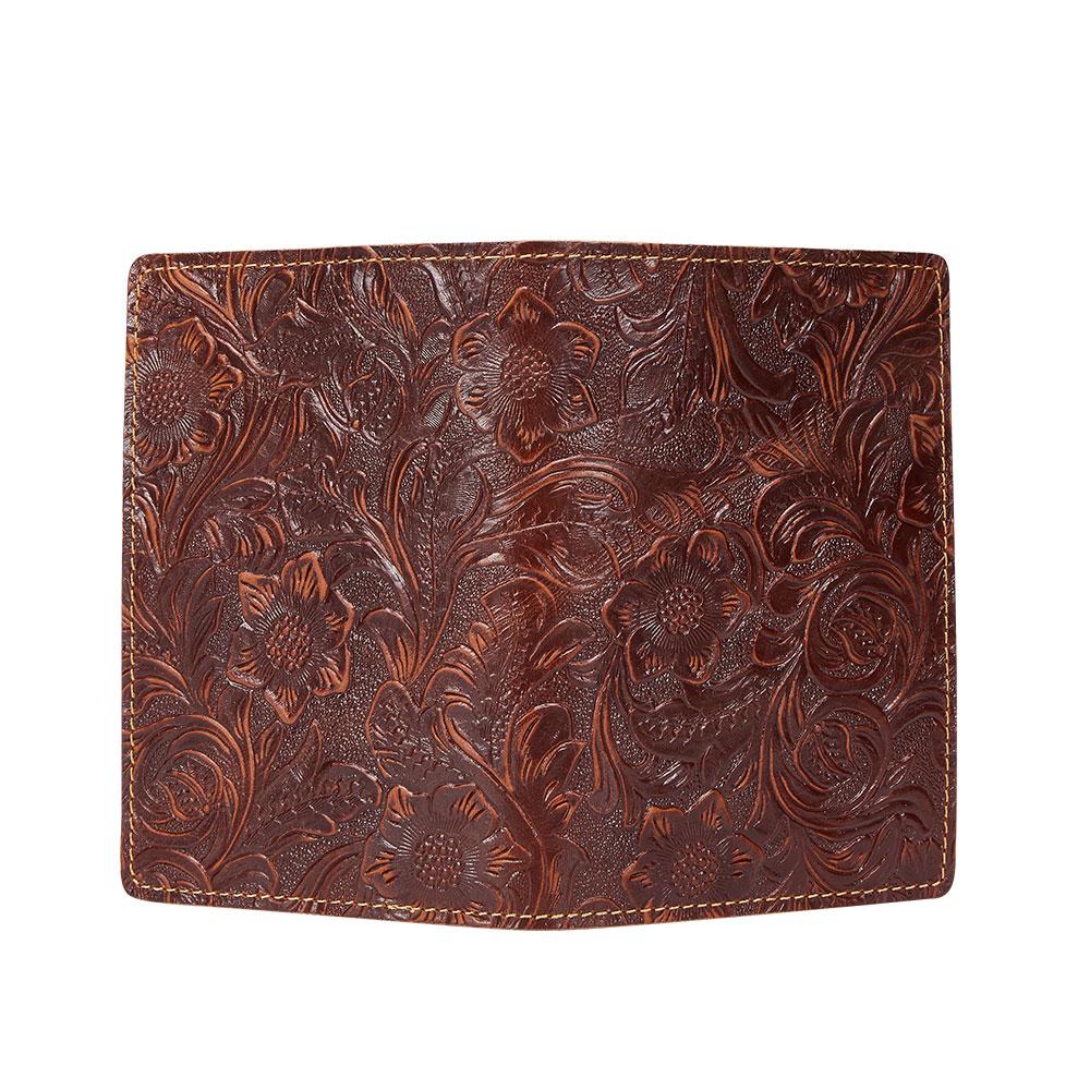 K018-Women Passport Cover Purse-Brown-05(7)088