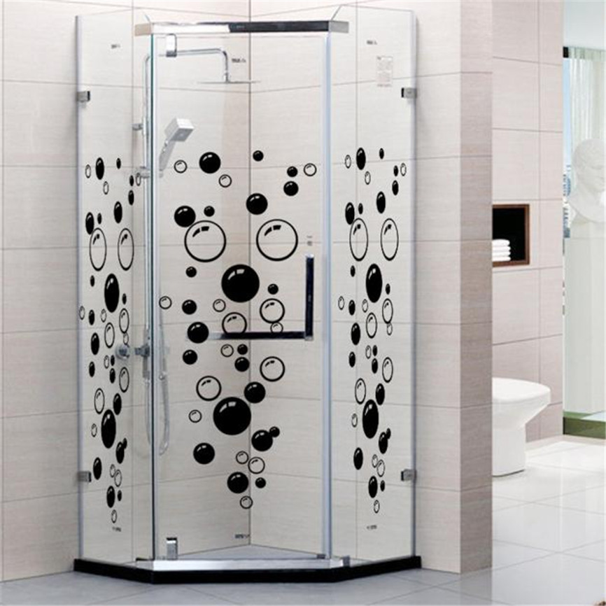 Love Shower Wall Stickers Salle De Bain Bathroom Toilet Sticker Kids ...