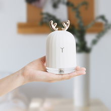 220ML Humidifier Ultrasonic Air Humidifier Essential Oil Cute Diffuser with LED Night USB Lamp for Home Car Aroma Diffuser Gift