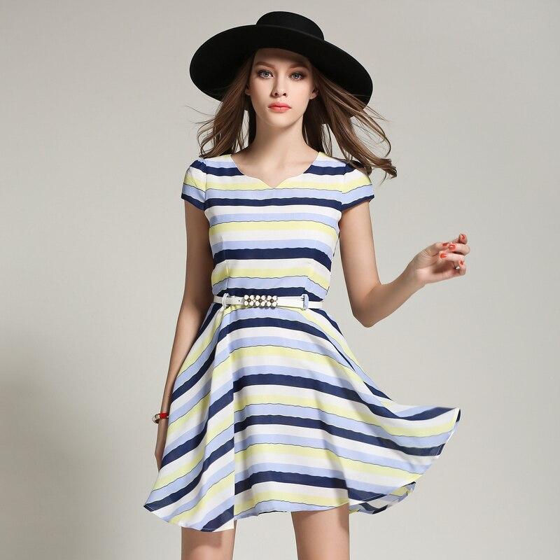 Aliexpress.com : Buy Women Fashion Summer Dress Simple ...