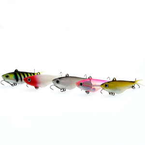 Image 2 - WLDSLURE 1Pcs Fishing Lure Silicone Bonic Soft Bait 10.5cm 18g Fishing Lure Soft Lead Fish Artificial Bait Fishing Tackle