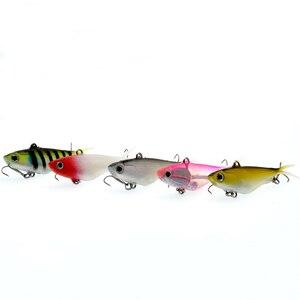 Image 2 - WLDSLURE señuelo de pesca de silicona, cebo suave bónico, 10,5 cm, 18g, plomo suave, pescado Artificial, aparejos de pesca, 1 Uds.
