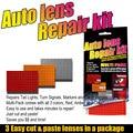 Набор для ремонта автомобильных линз, набор инструментов «сделай сам» для ремонта задних фар, трещин, красных и Желтых Цветов