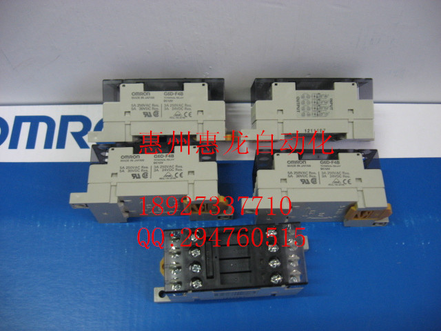[ZOB] New original OMRON Omron solid state relays G6D-F4B DC12V free shipping 1pcs lot original modular solid state relays g6d f4b dc24v