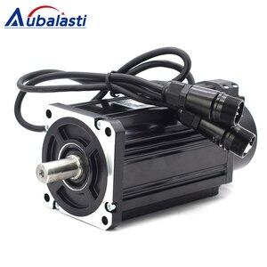 """Image 5 - Aubalasti 750W AC סרוו מנוע 2.4 N.M. 3000 סל""""ד 90ST M02430 AC מנוע תואם סרוו מנוע נהג AASD15A מלא מנוע ערכות"""