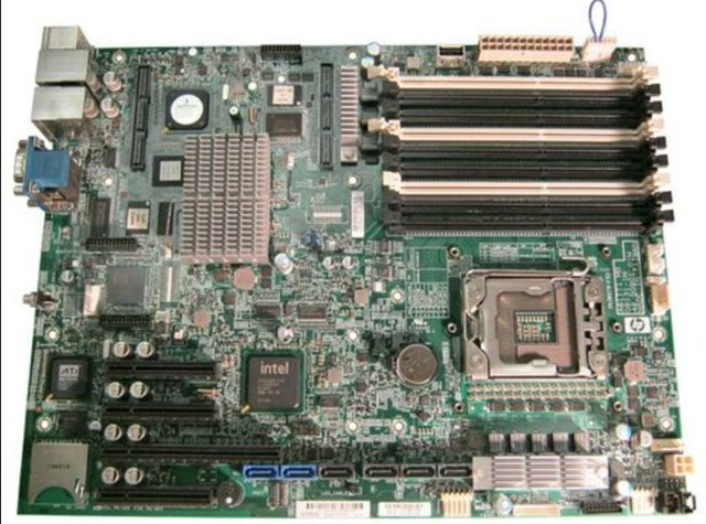 Originais motherboard do servidor 610523-001 503540-002 para ML330 G6