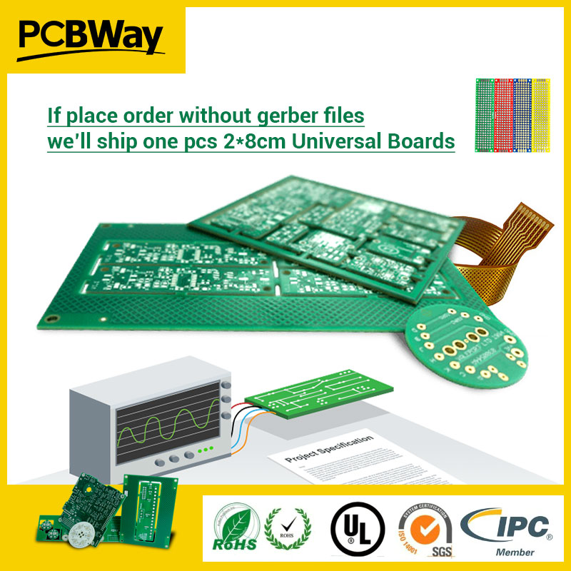 PCB Prototype PCB Fabrication Manufacturer Printed Circuit Boards PCBWay,customized price isn't real,pls send PCB files,pay link prototype universal printed circuit board breadboards 5 pack