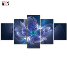 Dreamlike Flower Canvas Art Wall Pictures For Living Room HD Print Large Modern Flower Cuadros Decoracion Wall Picture 2017 Gift