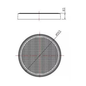 Image 3 - AOHEWE tròn Màu Trắng phản xạ tự dính ECE Phê Duyệt ánh sáng đánh dấu bên cho trailer xe tải xe tải caravan xe đạp vị trí ánh sáng