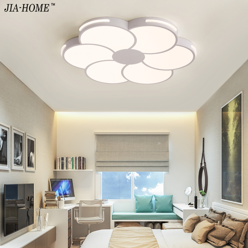 Supply Led Ceiling Light Modern Lamp Living Room Lighting Fixture Bedroom Kitchen Surface Mount Flush Panel Remote Control Back To Search Resultslights & Lighting