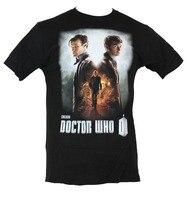 2018 Yaz Stil Dr Doctor Who Mens T-Shirt-Gün Film Afiş Tarzı Görüntü Yeni Gelenler Rahat Giyim