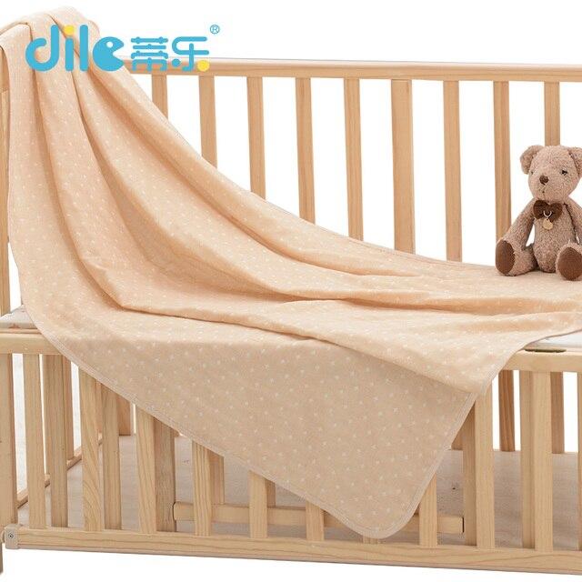 Dile Младенца Спать одеяло зима теплая Малыш Хлопок детская кроватка Одеяла Мягкие Детские Sleepsuit Унисекс Ребенка Спать Одеяла Мода пеленания