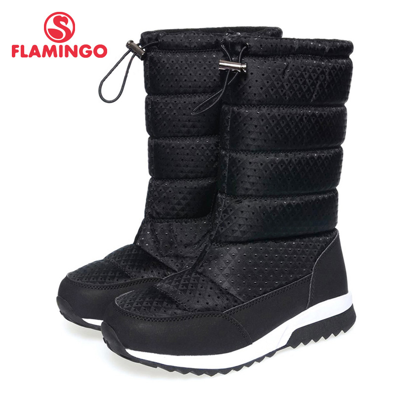FLAMINGO quality fashion winter children's shoes for girl 2015 new collection anti-slip waterproof snow boots with wool 52-NC415 work wear jacket half sleeve notched coat blazer 2017 casual feminino girl plus size women clothing ladies vogue office top