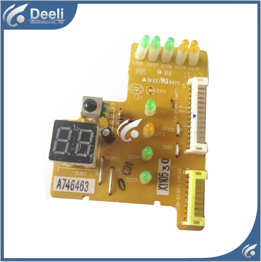 95% new good working for Air conditioning display board remote control receiver board plate A746463 95