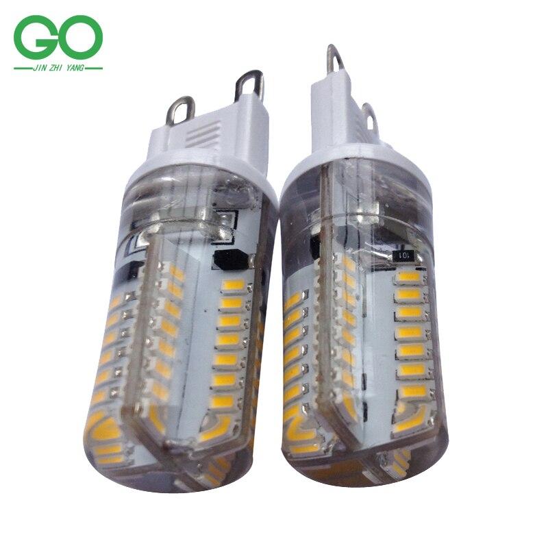 главе р9 огня 220в 230V 240 6w кукуруза свет лампы кристалла р9 ее место свет непосредственно заменить р9 галогенная лампа