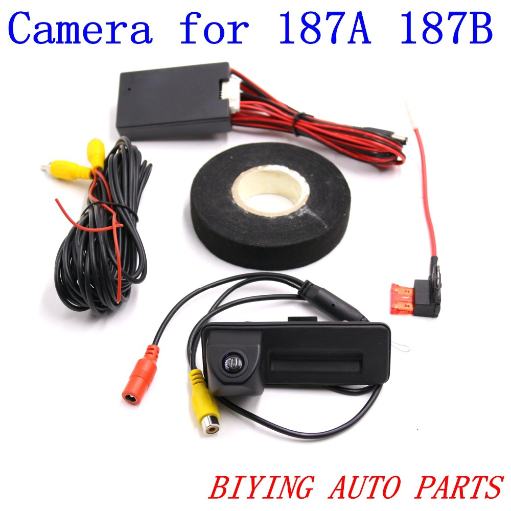 RCD330 RCD330 PLUS 187A 187B car trunk handle reverse AV REAR VIEW CAMERA For Roomster Fabia Octavia Yeti superb bigbigroad car trunk handle rear view backup reverse camera for skoda roomster fabia octavia 5e mk2 yeti superb audi a1