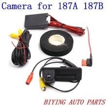 RCD330 RCD330 PLUS 187A 187B car trunk handle reverse AV REAR VIEW CAMERA For Roomster Fabia Octavia Yeti superb цена