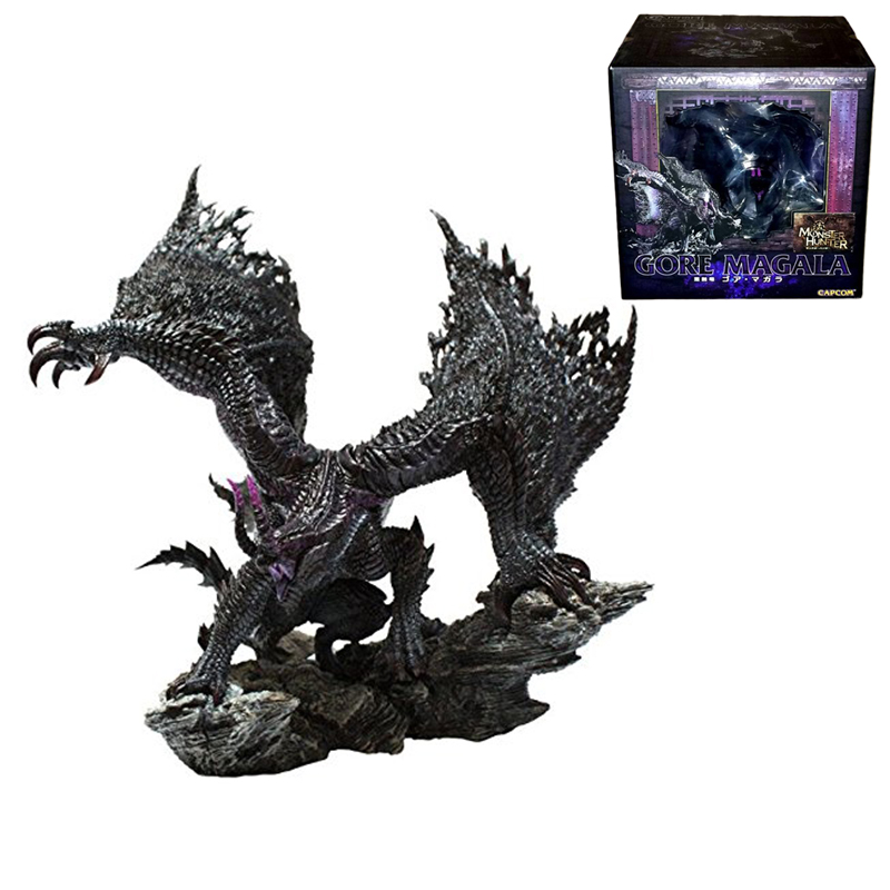 Original Box Japan Version Gore Magala Figures Toy Creator's Model PVC Collection Model Toy Capcom Monster Hunter Action Figures