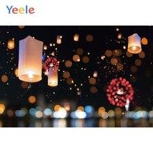 Yeele New Year Family Photocall Kongming Lantern Photography Backdrops Personalized Photographic Backgrounds For Photo Studio