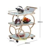 Kitchen Trolley Cart / 80cm(31) Handle High / Food Bar Cart