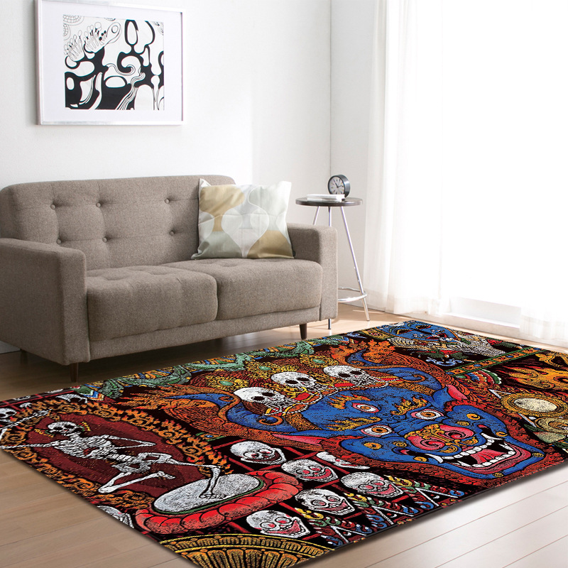 3D tapis chambre enfants tapis de jeu doux grande flanelle mémoire mousse grands tapis tapis pour salon salle à manger décor à la maison paillasson