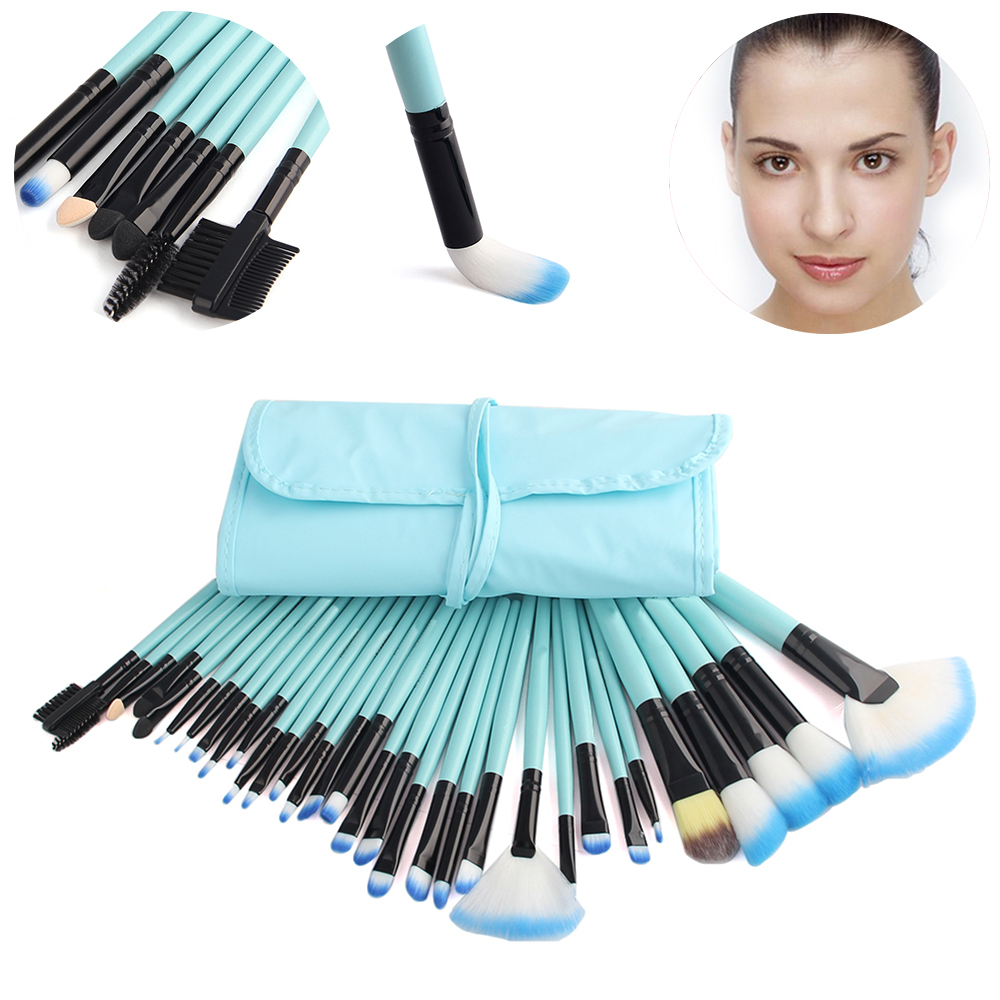 High Quality Professional Makeup Brushes Set 32 Pcs Makeup Tools Blending Powder Foundation Beauty Kit Maquiagem
