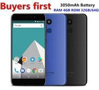 Original Vernee M5 Mobile Phone 4G LTE Android 7 0 RAM 4GB ROM 32GB 64GB 5