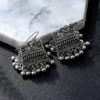 Fashion Metal Dangle Earrings Earrings Jewelry Women Jewelry Metal Color: M38181