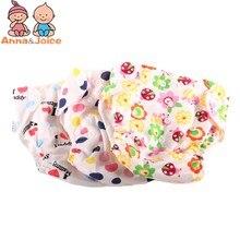 30 шт./лот, детские подгузники для новорожденных, многоразовые подгузники, тренировочные штаны для детей, меняющие хлопок, свободный размер, моющиеся подгузники