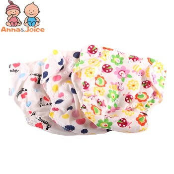 30pcs/lot Newborn Baby Diaper Reusable Nappies Training Pant Children Changing Cotton Free Size Washable Diapers - discount item  15% OFF Diapering & Toilet Training