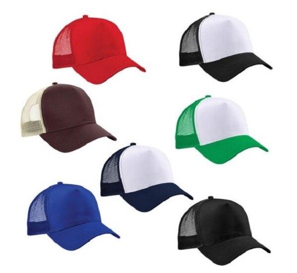 7c6dc5c7d91 Brand New Arrival Hot Unisex Hat Men Women Boys Girls Adjustable Hats Solid  Colors Green White Baseball Cap Hat Mesh Trucker Hat-in Baseball Caps from  ...