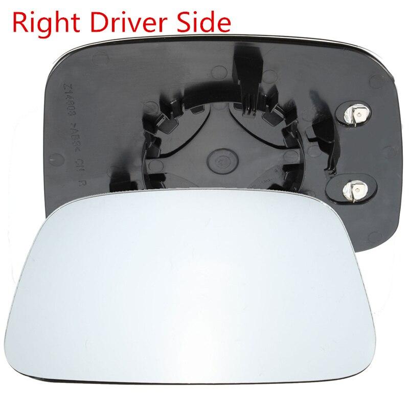 rhd Rear Convex Door Clear Heated Electric Wing Mirror Glass For VW Transporter T5 2003-2009 16cm x 14.2cm x 20.2cm