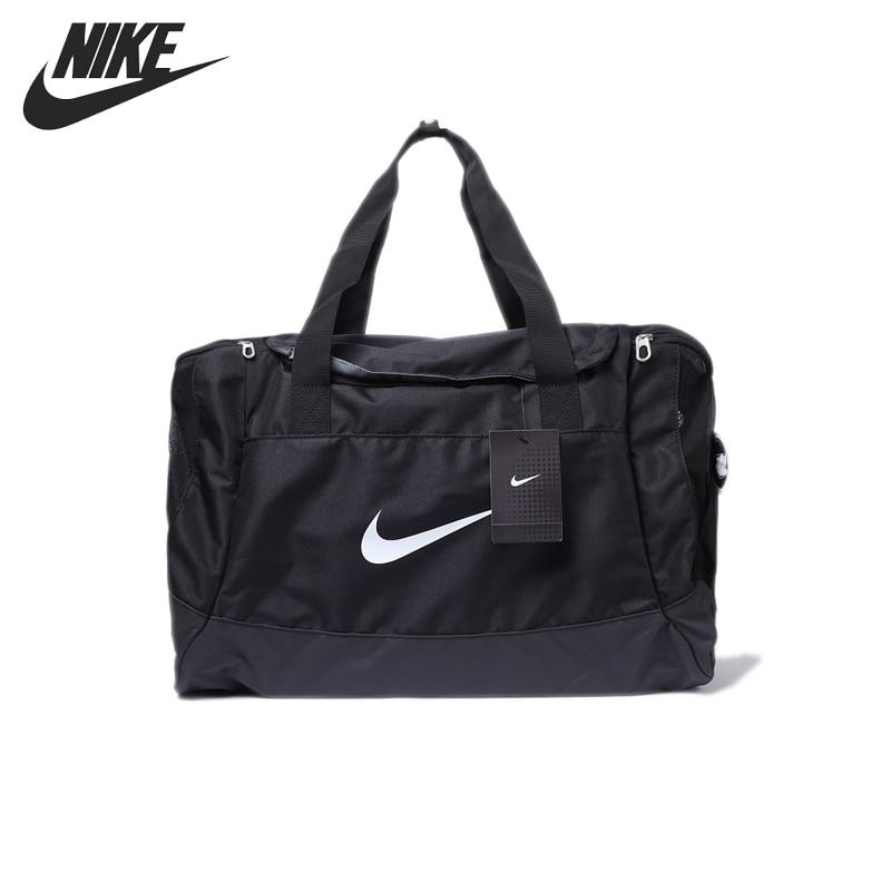 Original New Arrival 2018 NIKE CLUB TEAM M DUFF Unisex Handbags Sports Bags nike nike fuelband sports bracelet battery cover green m