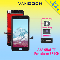 10pcs AAA Quality No Dead Pixel Display For IPhone 7 Plus LCD Replacement With 3D Touch