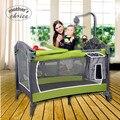 Elección de la Madre de alta calidad de bebé plegable cuna portátil multi-función de bebé cama de viaje Envío gratis MCC202