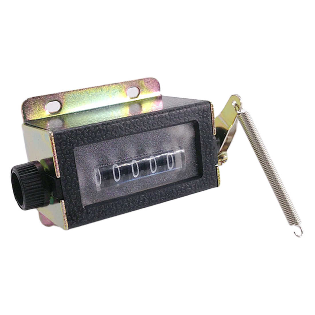 Counter Manual 5 Digits  Resettable Mechanical Pull Stroke Mechanical Hand Tally