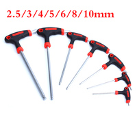 2018 MTB Road Bicycle Repair Tool Kits L Type Allen Wrench 2.5/3/4/5/6/8/10mm 7 pcs Fixed Gear Bike Hex Wrench Cycling Tool Kit
