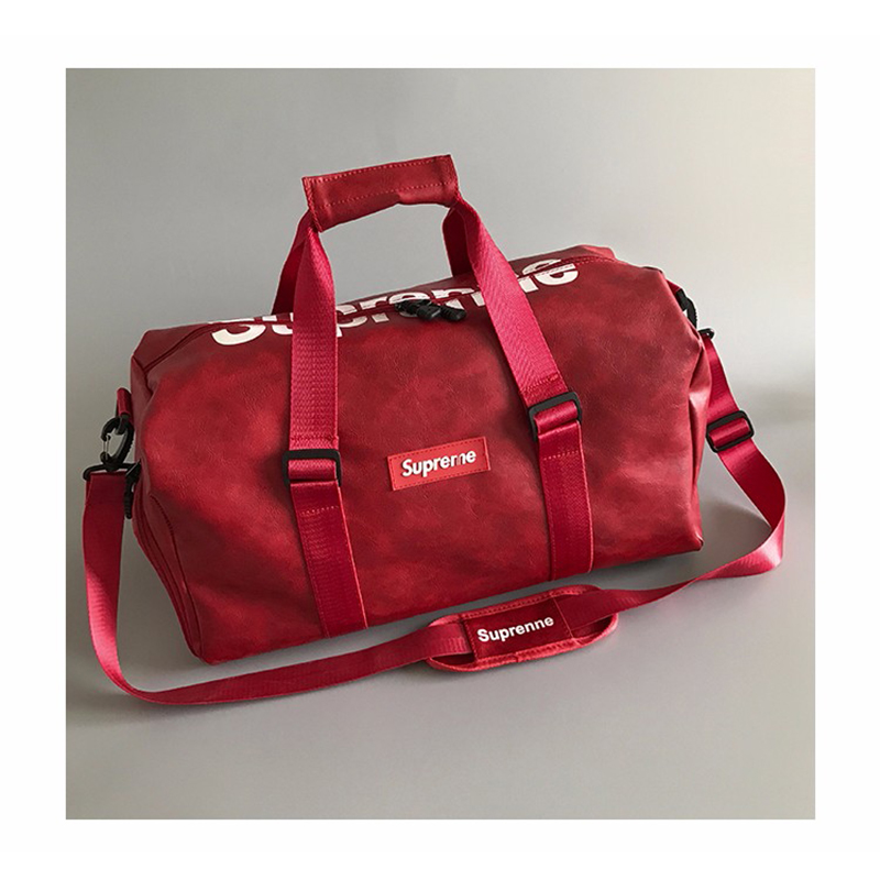 Casual letters unisex travel bag separate shoes swimming bag large capacity