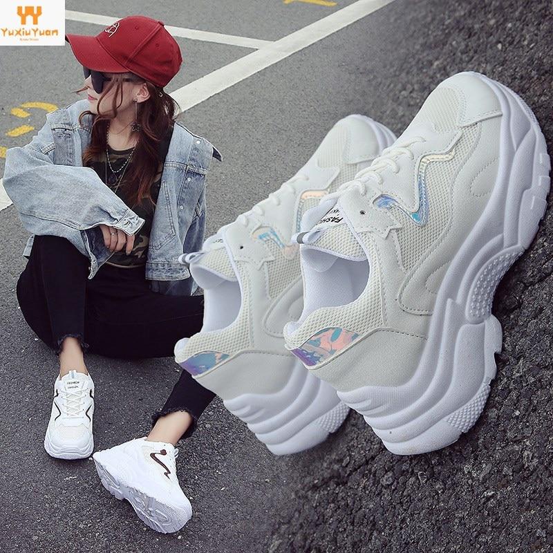 Feminino Esportivo Limited Leather Rubber Lifestyle Women Low Eva Sneakers 2018 Summer New