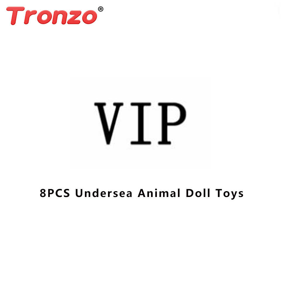 Tronzo 8pcs Bonito Animal Submarino Action Figure Dolls Para As Crianças Do Bebê