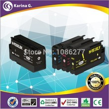 4X 950 951 Generic Inkjet Cartridge For hp950 hp951 XL For HP Officejet Pro 8100 ePrinter 8600 Printer Ink(China)