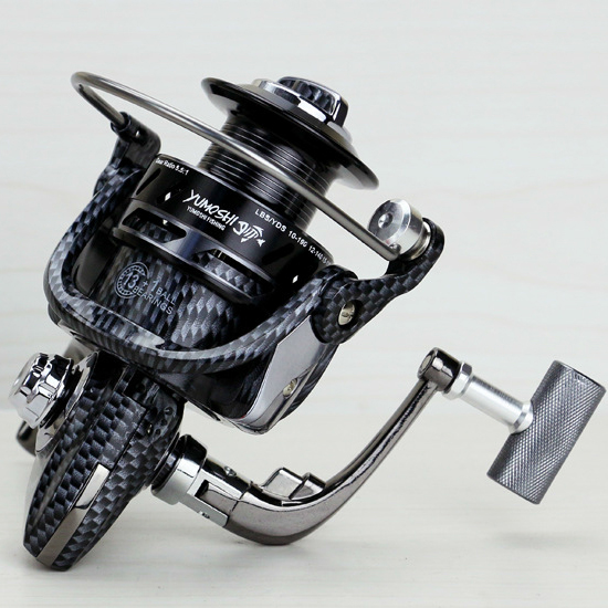 FAST SHIPPING BM7000 SNAKE SKIN FOR BIG FISH Ocean inshore saltwater ICE FLY CARP spinning reel 13 Ball Bearings FULL METAL