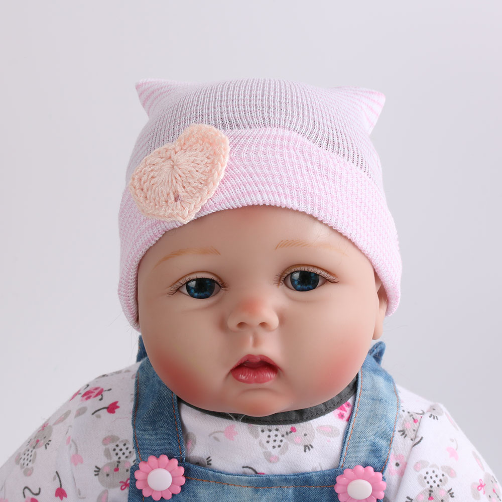 1 Pc Newborn Hospital Hat Baby Girls Beanies With Bow Soft Knit Infant Striped Caps Baby Toddler Hat Accessories