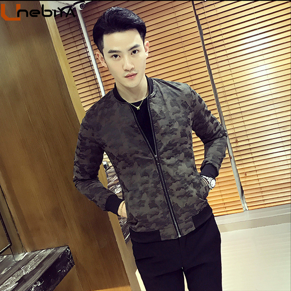 Unebiya Good Quality Solid Military Men Clothes Outwear Coat Business Smart Casual Gentle Windbreaker Korean Style Male Jackets