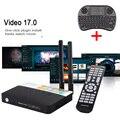 CSA93 Android 6.0 TV Box 3 GB RAM 32 GB ROM Amlogic S912 Caixa de Tv inteligente Com Teclado I8 2.4 GHZ/5.8 GHz Dual WIFI Mídia BT4.0 jogador