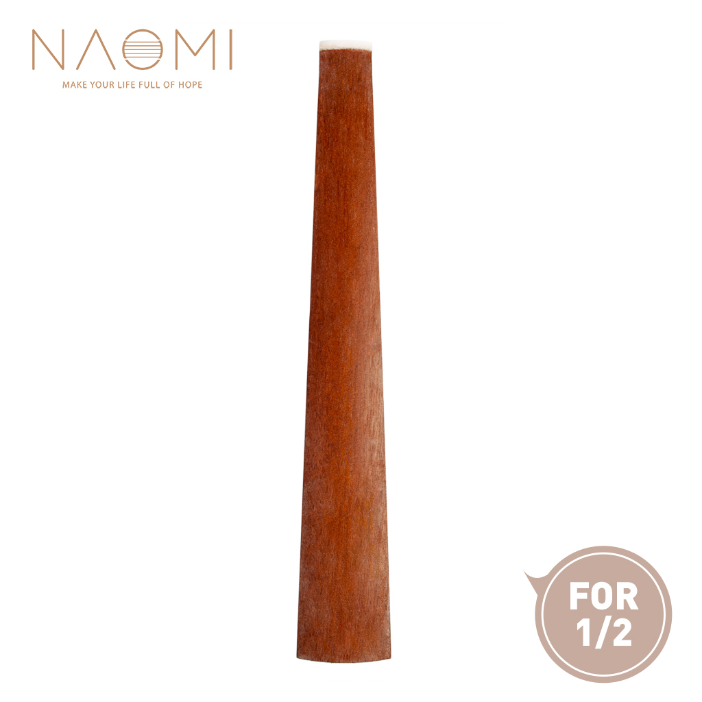 Stringed Instruments Naomi 1/2 Rosewood Violin Fingerboard For 1/2 Acoustic Violin Fiddle Fingerboard W/ Nut Violin Parts Accessories New A Wide Selection Of Colours And Designs