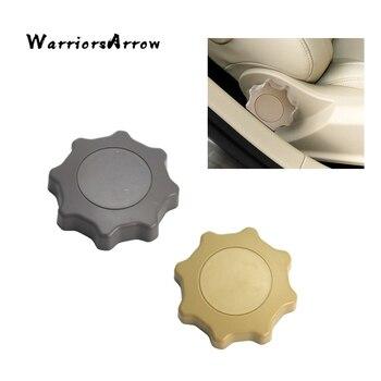 WarriorsArrow regulacja siedziska gałka obrotowa pokrywa szary beżowy dla VW Golf Jetta Mk4 1999 2000 2006 Passat B5 1998-2005 1J0881671F