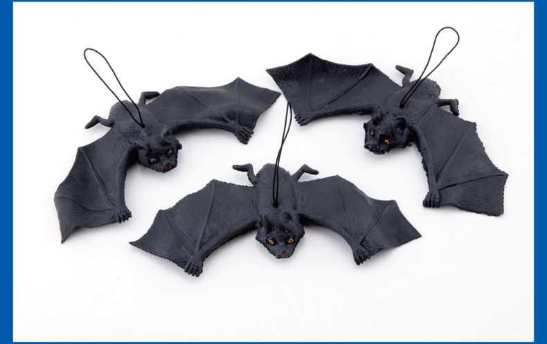 Cadılar bayramı hediye malzemeleri tüm kişi Tricky komik parodi oyuncaklar yumuşak taklit sahte yarasa yarasa